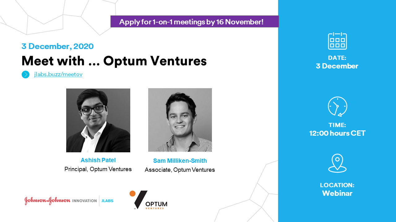 Meet with Optum Ventures