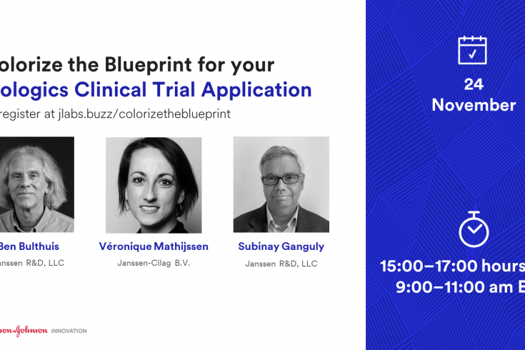 Colorize the Blueprint for your Biologics Clinical Trial Application